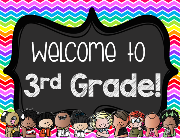 welcome to third grade sign