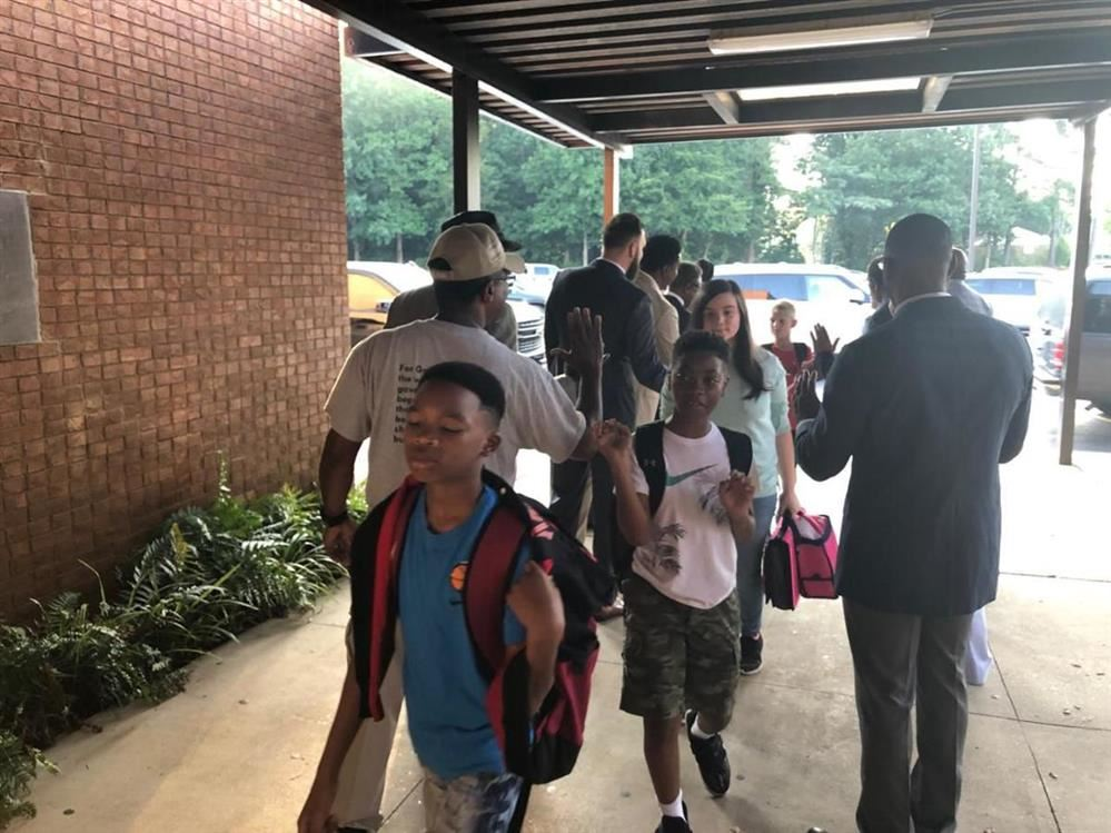 Hibbett Middle School Welcomes All